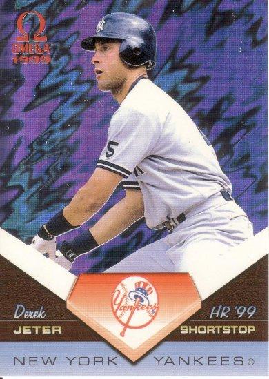 DEREK JETER 1999 OMEGA HOME RUN '99 #13 NEW YORK YANKEES