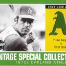 MIKE HEGAN 2002 VINTAGE SPECIAL COLLECTION JERSEY #S-MH OAKLAND ATHLETICS