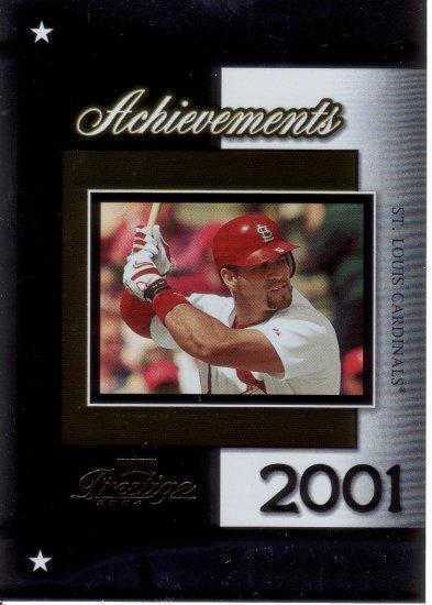 ALBERT PUJOLS 2004 PRESTIGE ACHIEVEMENTS #A-8  ST. LOUIS CARDINALS