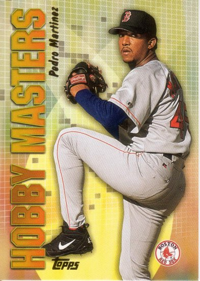 PEDRO MARTINEZ 2002 TOPPS HOBBY MASTERS #18 BOSTON RED SOX