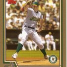 BARRY ZITO 2004 TOPPS GOLD #550 SP# 1090/2004 OAKLAND ATHLETICS