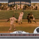 CARL YASTRZEMSKI 2004 TOPPS WORLD SERIES HIGHLIGHTS 1967 #CY BOSTON RED SOX