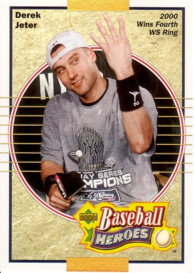 DEREK JETER 2005 UPPER DECK JETER BASEBALL HEROES #95 NEW YORK YANKEES