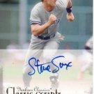 STEVE SAX 2004 UD YANKEES CLASSICS CLASSIC SCRIPTS AUTOGRAPH #62 NEW YORK YANKEES