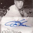 TOM TRESH 2004 UD YANKEES CLASSICS CLASSIC SCRIPTS AUTOGRAPH #64 NEW YORK YANKEES