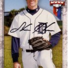 SHANE HEAMS 2000 TEAM BEST AUTOGRAPH #29 ROOKIE DETROIT TIGERS