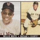 WILLIE MAYS 2003 BOWMAN HERITAGE #171B NEW YORK GIANTS