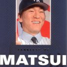 HIDEKI MATSUI 2003 MVP TALK OF THE TOWN #TT1 ROOKIE NEW YORK YANKEES