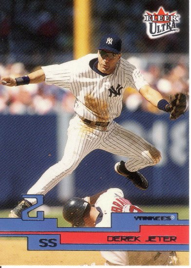DEREK JETER 2003 ULTRA #2 NEW YORK YANKEES