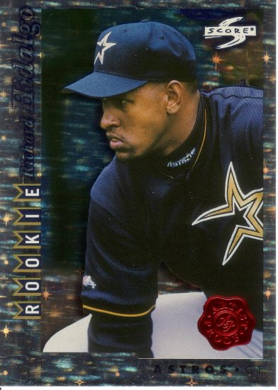 RICHARD HIDALGO 1998 SCORE ROOKIE TRADED SHOWCASE ARTIST PROOF #RTPP133 ROOKIE HOUSTON ASTROS