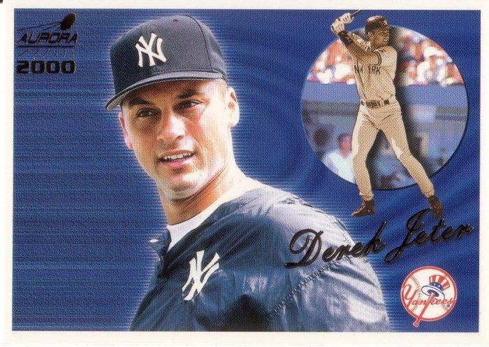 DEREK JETER 2000 AURORA #98 NEW YORK YANKEES