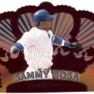 SAMMY SOSA 2000 CROWN ROYALE #27 RED DIE-CUT CHICAGO CUBS AllstarZsports.com