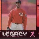 KEN GRIFFEY JR. 2000 UD HOLOGRfX LONGBALL LEGACY #LL13 CINCINNATI REDS AllstarZsports.com