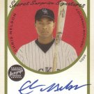 CHRIS NELSON 2005 CRACKER JACK SECRET SURPRISE SIGNATURES #SSA-CN AUTO ROCKIES AllstarZsports.com