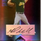 MARK MULDER 2004 LEAF LIMITED MONIKER BRONZE #100 SP# 082/100 AUTO  ATHLETICS AllstarZsports.com