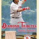 MANNY RAMIREZ 2005 FLEER TRADITIONS DIAMOND TRIBUTE BAT #DT-MR BOSTON RED SOX AllstarZsports.com