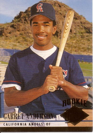 GARRET ANDERSON 1994 FLEER ULTRA #322 ROOKIE CALIFORNIA ANGELS AllstarZsports.com