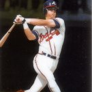 CHIPPER JONES 1995 SELECT CERTIFIED EDITION #107 ROOKIE ATLANTA BRAVES AllstarZsports.com