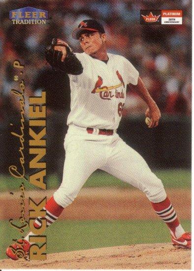 RICK ANKIEL 1999 FLEER UPDATE #U1 ROOKIE ST. LOUIS CARDINALS AllstarZsports.com