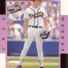 GREG MADDUX 1998 SCORE ROOKIE TRADED COMPLETE PLAYER #6C ATLANTA BRAVES AllstarZsports.com