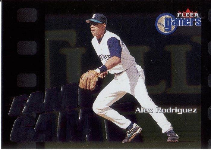 ALEX RODRIGUEZ 2000 FLEER GAMERS #111 SEATTLE MARINERS AllstarZsports.com