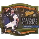 MIKE PIAZZA 2003 FLEER AUTHETIX BALLPARK CLASSICS #9 NEW YORK METS AllstarZsports.com