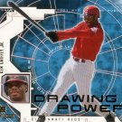 KEN GRIFFEY JR. 2001 UPPER DECK MVP DRAWING POWER #DP5 CINCINNATI REDS AllstarZsports.com