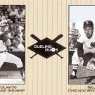 COLAVITO / FOX 2002 GREATS OF THE GAME DUELING DUOS #18  INDIANS / WHITE SOX AllstarZsports.com
