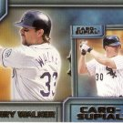 WALKER / ORDONEZ 2000 CROWN ROYAL CARD-SUPIAL #9 & #6  ROCKIES / WHITE SOX AllstarZsports.com