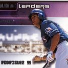 ALEX RODRIGUEZ 2002 FLEER GENUINE LEADERS #GL3 TEXAS RANGERS AllstarZsports.com