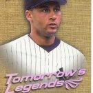 DEREK JETER 2001 FLEER ULTRA TOMORROW'S LEGENDS #12 TL NEW YORK YANKEES www.AllstarZsports.com