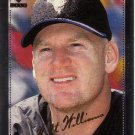 MATT WILLIAMS 2000 PRIVATE STOCK SILVER PORTRAIT #8 197/199 ARIZONA DIAMONDBACKS AllstarZsports.com