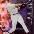 BERNIE WILLIAMS 2001 TOPPS FINEST REFRACTOR #28 SP 464/499 NEW YORK YANKEES www.AllstarZsports.com
