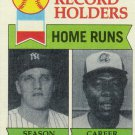 ROGER MARIS / HANK AARON 1979 TOPPS #413 NEW YORK YANKEES / ATLANTA BRAVES www.AllstarZsports.com