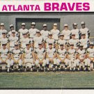 ATLANTA BRAVES 1973 TOPPS #521 TEAM CARD www.AllstarZsports.com