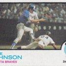 DAVE JOHNSON 1973 TOPPS #550 ATLANTA BRAVES www.AllstarZsports.com