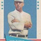 JOHN McGRAW 1961 FLEER NEW YORK GIANTS www.AllstarZsports.com
