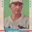 JESSE HAINES 1961 FLEER #40 ST. LOUIS CARDINALS www.AllstarZsports.com
