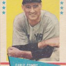 EARLE COMBS 1961 FLEER #17 NEW YORK YANKEES www.AllstarZsports.com