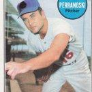 RON PERRANOSKI 1969 TOPPS #77A (NO L.A. ON HAT) MINNESOTA TWINS www.AllstarZsports.com