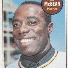 AL McBEAN 1969 TOPPS #14 SAN DIEGO PADRES www.AllstarZsports.com