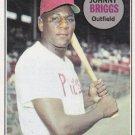 JOHNNY BRIGGS 1969 TOPPS #73 PHILADELPHIA PHILLIES www.AllstarZsports.com