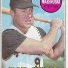 BILL MAZEROSKI 1969 TOPPS #335 PITTSBURGH PIRATES www.AllstarZsports.com