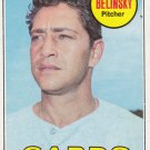 BO BELINSKY 1969 TOPPS #366 ST. LOUIS CARDINALS www.AllstarZsports.com