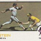 MIKE EPSTEIN 1973 TOPPS #38 OAKLAND ATHLETICS www.AllstarZsports.com