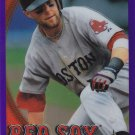 DUSTIN PEDROIA 2010 TOPPS CHROME PURPLE REFRACTOR #109 436/599 BOSTON RED SOX www.AllstarZsports.com