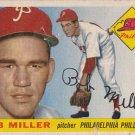 BOB MILLER 1955 TOPPS #157 PHILADELPHIA PHILLIES www.AllstarZsports.com