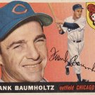 FRANK BAUMHOLTZ 1955 TOPPS #172 CHICAGO CUBS www.AllstarZsports.com
