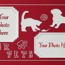 Custom Double Pet Picture Photo Mat Mount 12 x 16