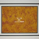Grooved Double Photo Mat 16 x 20 For 12 x 16 Photo Or Image